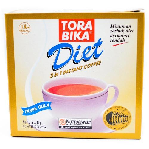 Torabika Diet 3 in 1 Instant Coffee 5-ct, 40 Gram