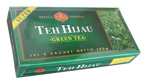 Kepala Djenggot Teh Hijau Super (Green Tea) Loose, 150 Gram (Sachet @ 50 Gram)
