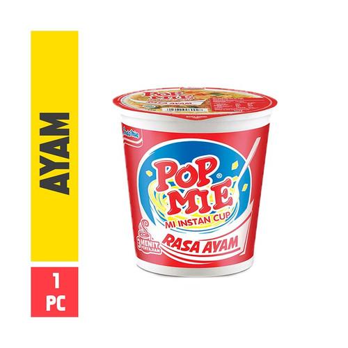 Pop Mie Rasa Ayam Instant Noddle Cup Chicken Flavour, 75 Gram