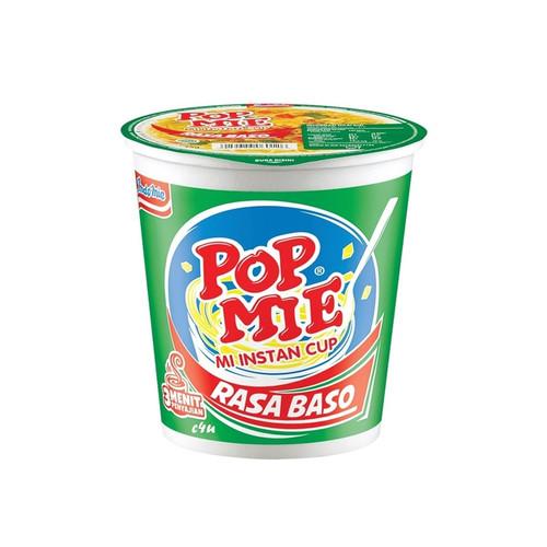 Pop Mie Rasa Baso Instant Noddle Cup, 75 Gram