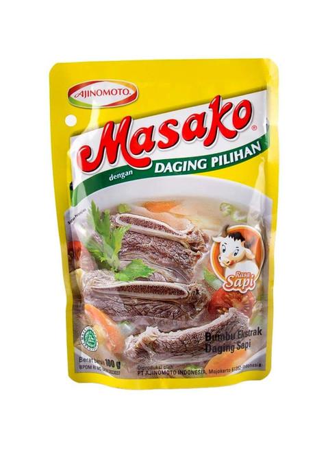 Masako Penyedap Rasa Sapi (Beef Flavoring), 100 Gram