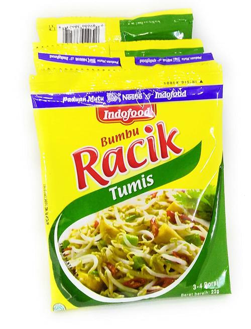 Indofood Racik Tumis (Instant Stir-fried Seasoning), 22 Gram (10 sachets)