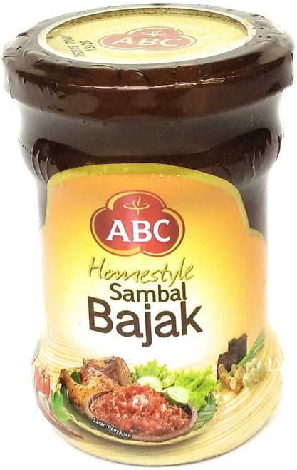 ABC Homestyle Sambal Bajak Chili Sauce, 190 Gram