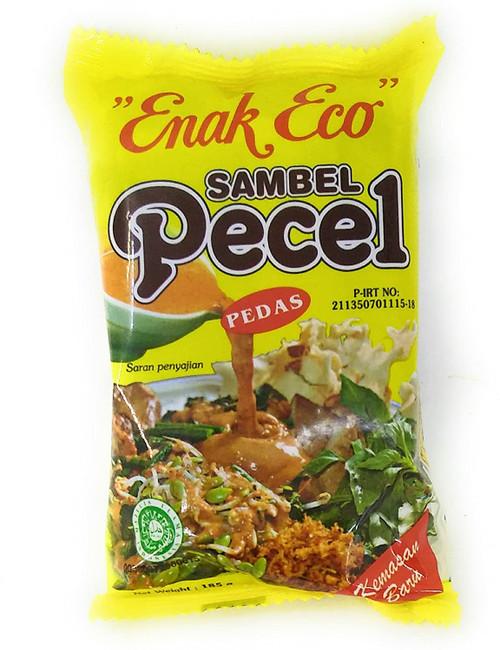 Enak Eco Sambel Pecel - Pedas (Hot), 185 Gram