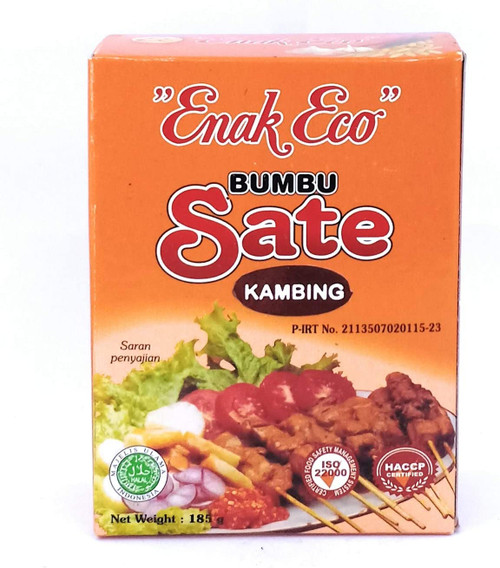 Enak Eco Bumbu Sate Kambing (Goat Satay Peanut Sauce), 185 Gram