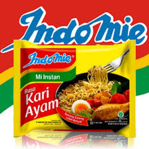 Indomie Instant Noodle Mi Kari Ayam, 70 Gram (5 pcs)