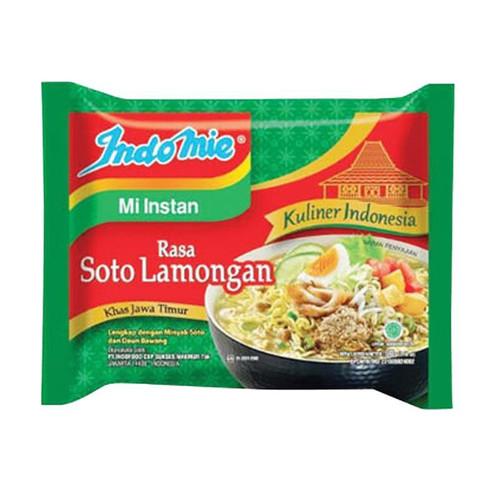 Indomie Instant Noodle Soto Lamongan, 90 Gram (1 pcs)