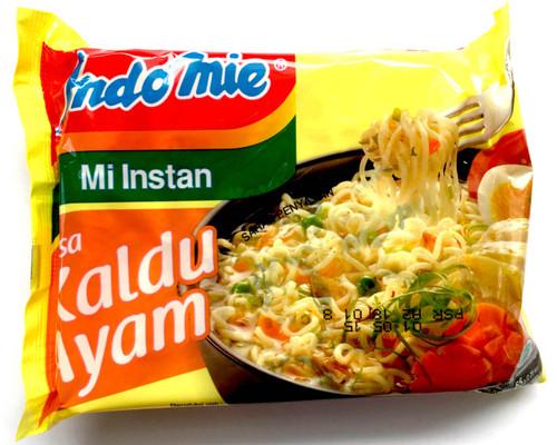 Indomie Noodle Mi Instan Kaldu Ayam, 75 Gram (1 pcs)