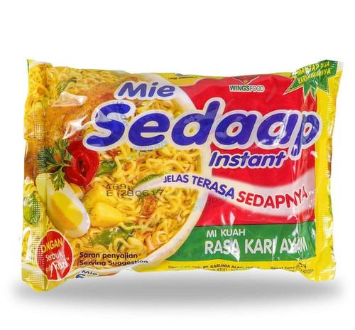 Sedaap Instant Noodle Mi Kari Ayam, 72 Gram (1 pcs)