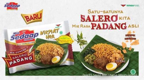 Sedaap Instant Noodle Mi Goreng Salero Padang, 86 Gram (1 pcs)