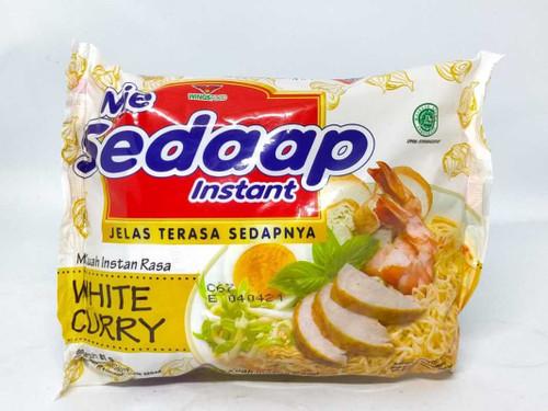 Sedaap Instant Noodle Mi White Curry, 81 Gram (5 pcs)
