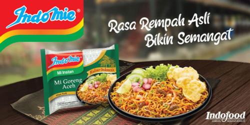 Indomie Instant Noodle Mi Goreng Aceh, 90 Gram (1 pcs)