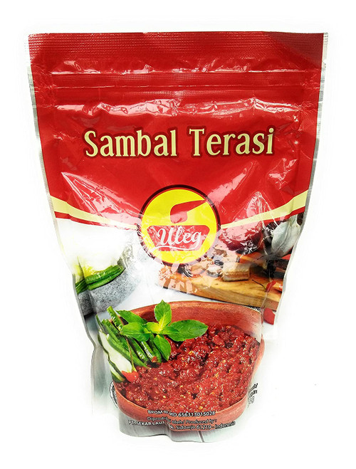 Finna Uleg Sambal Terasi (Chili Shrimp Paste), 500 Gram