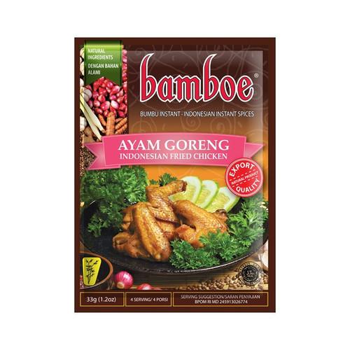 Bamboe Bumbu Ayam Goreng (Indonesian Fried Chicken), 33 Gram