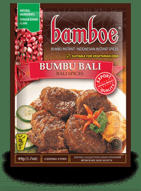 Bamboe Bumbu Bali - Bali Spices Saucy Seasoning, 49 Gram