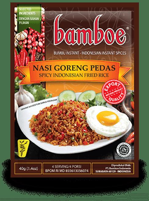 Bamboe Bumbu Nasi Goreng Pedas (Spicy Indonesian Fried Rice), 40 Gram