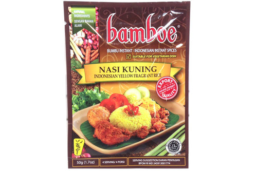 Nasi Kuning (Indonesia Yellow Fragrant Rice) - 1.7oz