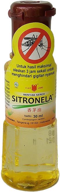 Eagle Brand (Cap Lang) Minyak Sereh Sitronela - Lemongrass Oil, 30 Ml