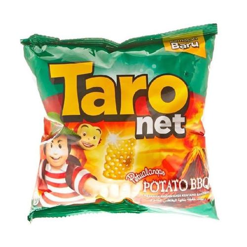 Taro Net - Snack Kentang Potato Barbeque Snack Medium Pack 36gr