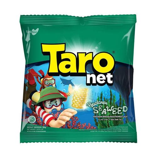 Taro Net - Snack Kentang Potato Seaweed Snack Medium Pack 36gr