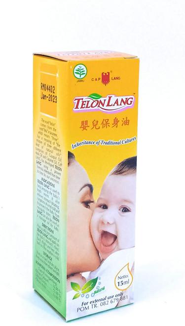 Cap Lang Eagle Brand Telon Oil, 15ml