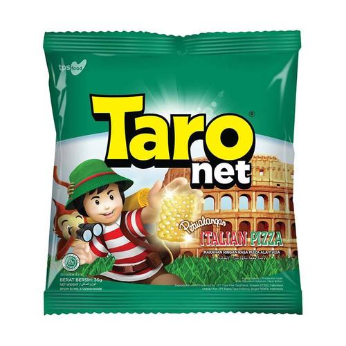 Taro Net - Snack Kentang Potato Italian Cheese Pizza Snack Medium Pack 36gr