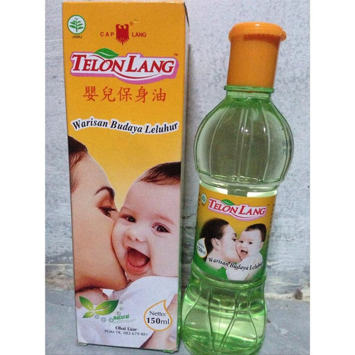 Cap Lang Eagle Brand Telon Oil, 150 ml
