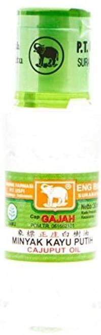 Cap Gajah Minyak Kayu Putih - Elephant Brand Cajuput Oil, 30ml
