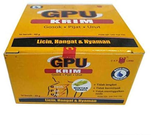 Cap Lang Eagle Brand GPU Cream, 60 Gram (Pack of 1)