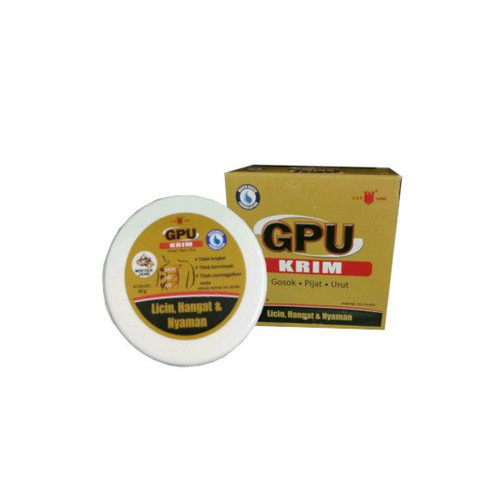Cap Lang Eagle Brand GPU Cream with Ginger Oil , 60 Gram