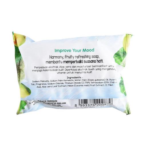 Harmony Fruity Refreshing Soap Melon Honeydew, 70 gr