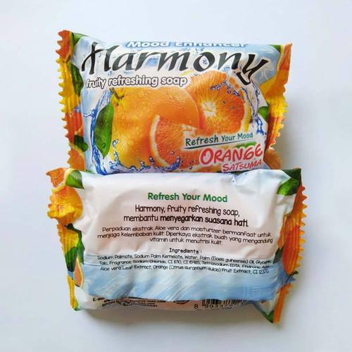 Harmony Fruity Refreshing Soap Orange Satsuma, 70 gr