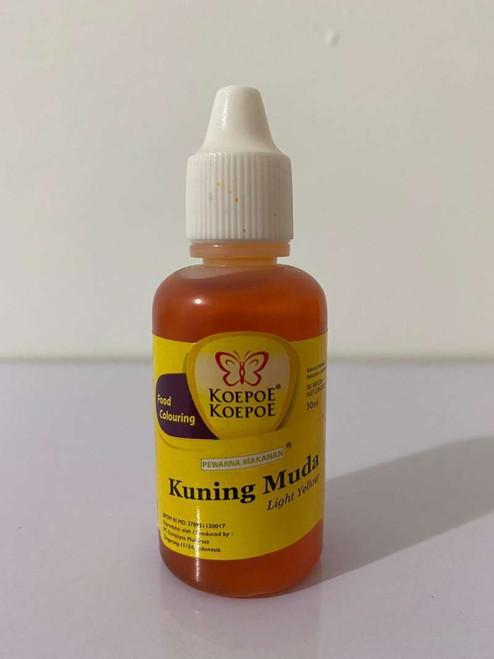 Koepoe-Koepoe Coloring Colouring Light Yellow / Kuning Muda Enhancer Paste, 30 ml