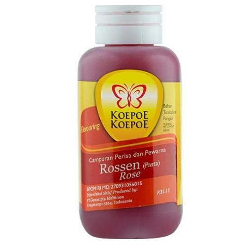Koepoe-Koepoe Rossen (Rose) Flavoring Enhancer Paste, 60ml