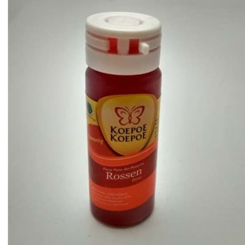 Koepoe-Koepoe Rossen (Rose) Flavoring Enhancer Paste, 25ml