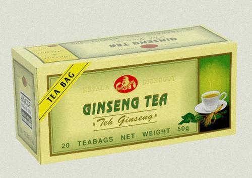 Kepala Djenggot Gingseng Tea 20-ct, 50 Gram