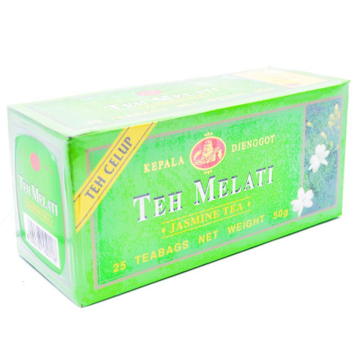 Kepala Djenggot Jasmine Tea 25 Teabags, 50 Gram