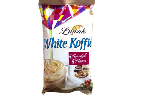 White Koffie 3 in 1 Coffee (Assorted Flavors / 10-ct) - 6.7oz (Pack of 1)