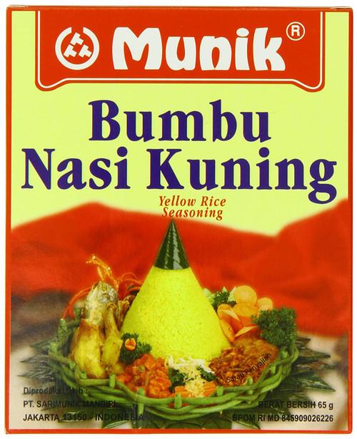 munik bumbu nasi kuning (yellow rice seasoning) - 2.3oz