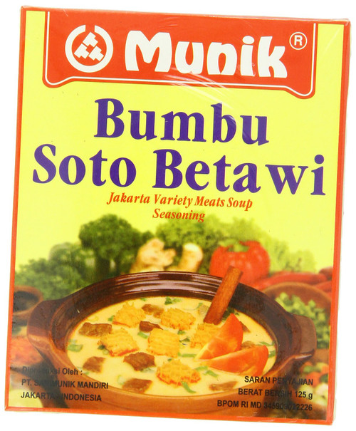 Munik Soto Betawi Jakarta Variety Meat Soup, 125-Gram