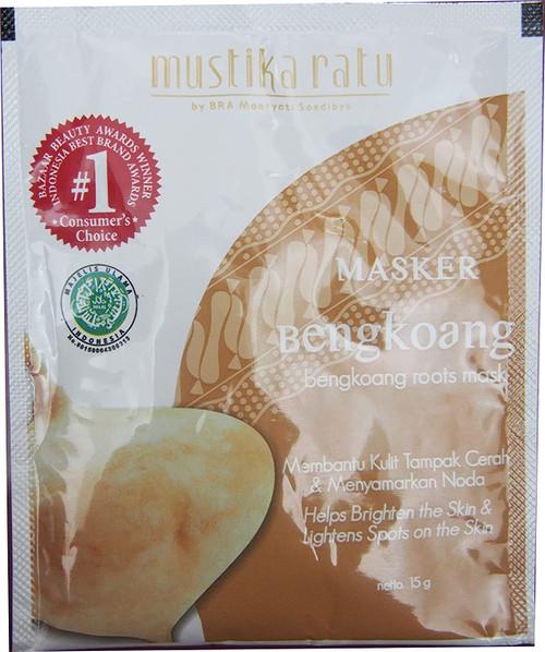 Bengkoang Roots Mask/Masker Bengkoang - Helps Brighten the Skin & Lightens Spots on the Skin, 15 gr