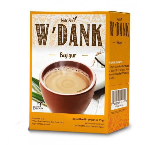 Nutrisari W'dank Indonesian Traditional Beverage (Bajigur)