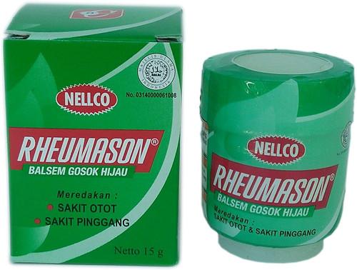 Rheumason Balsem Gosok Hijau Green Balm, 18 Gram