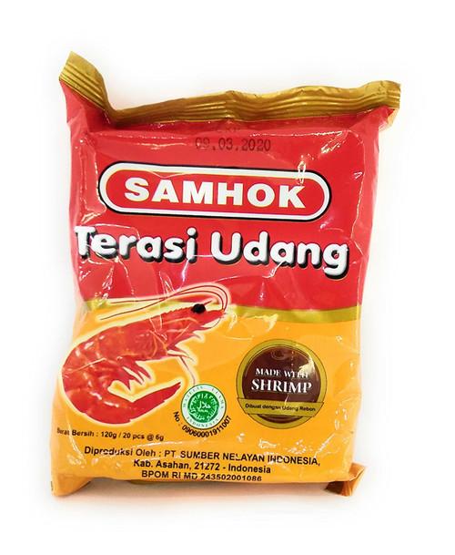 Samhok Terasi Medan Asli single use type 20-ct @6g , 120 Gram