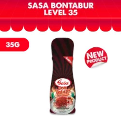 Sasa - BON TABUR Pedas Lv35 Chilli Flakes - 35gr Botol Active