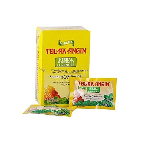 Tolak Angin Herbal Peppermint Lozenges, 150 Gram
