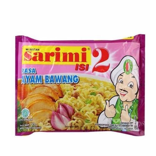 Sarimi Instant Noodle Mi Isi 2 Ayam Bawang, 115 Gram