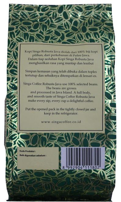 Robusta Java Singa Coffee, 1 Box 180 Gram