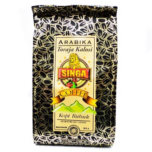 Singa Coffee Arabika Toraja Kalosi, 180 Gram