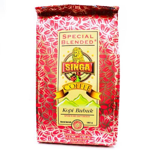 Singa Coffee Special Blended, 180 Gram